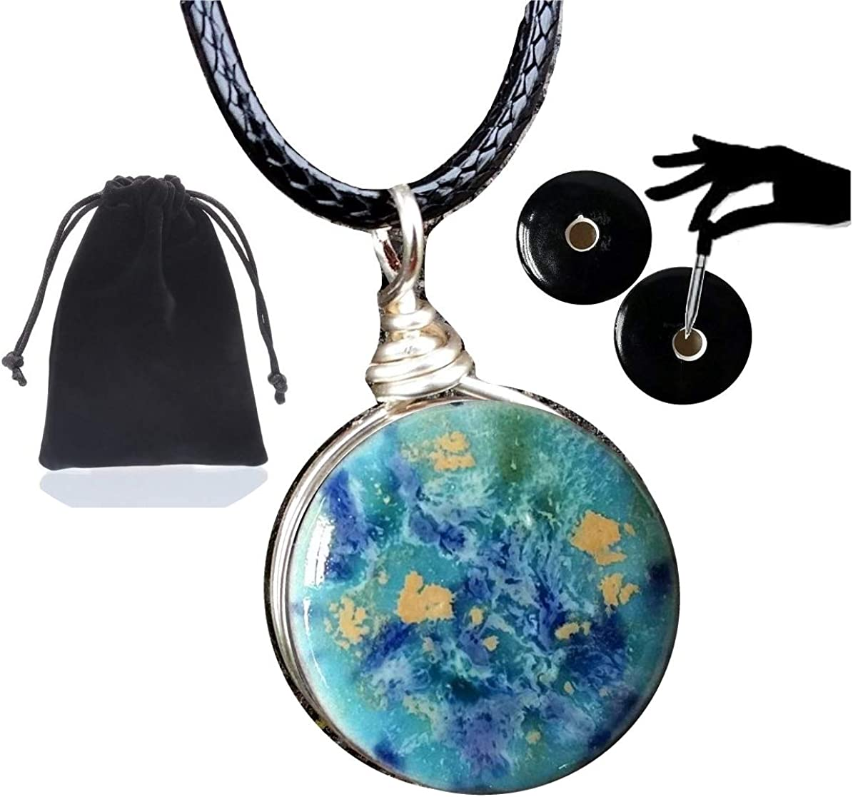 Earth Jewelry Blue Caprice Essential Alternative dealer Year-end gift Diffuser P Aromatherapy Oil