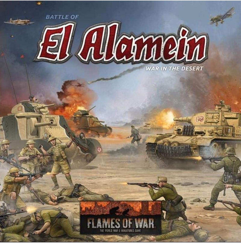 Flames of War  El Alamein Starter Box