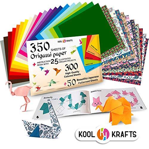 350 Origami Paper Kit