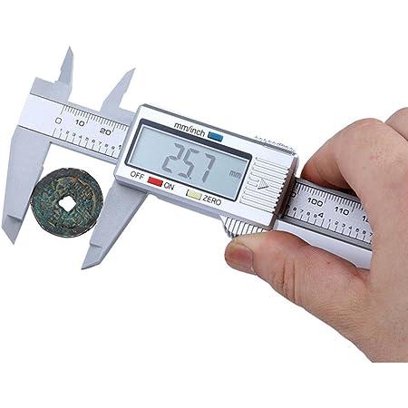 "6/"" 150mm Carbin Fiber Electronic Digital Vernier Caliper Micrometer Gauge LCD"