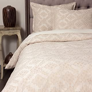 Amity Home Kat Duvet Cover Set, King, Taupe