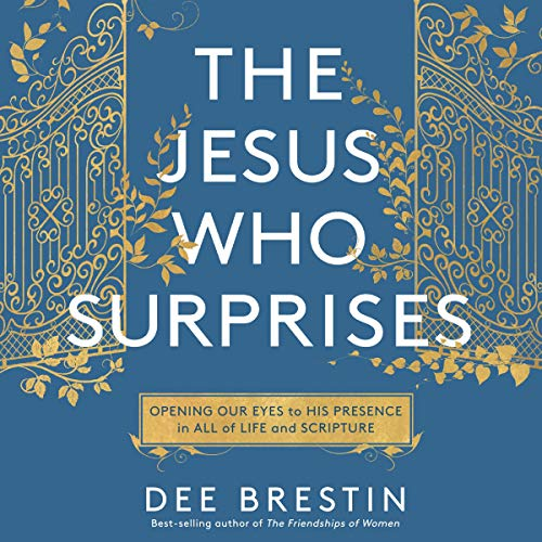 The Jesus Who Surprises audiobook cover art