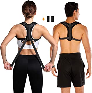 Posture Corrector for Men and Women - Adjustable Posture Brace - Upper Back Posture Corrector for Back Pain Relief ,Slouching, Hunching , Bad Posture - Shoulder Posture Support( Universal )