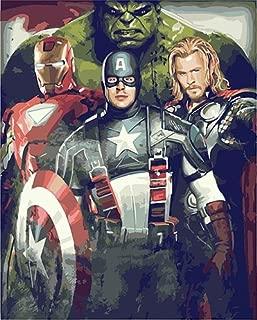 Best superhero paint by numbers Reviews