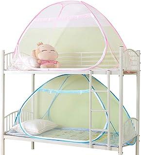 Flushzing Enfants Lits superpos/és Valance /étudiants Dortoir Insect Net Quatre Coin Literie Canopy Bug Repeller Bed Rideau