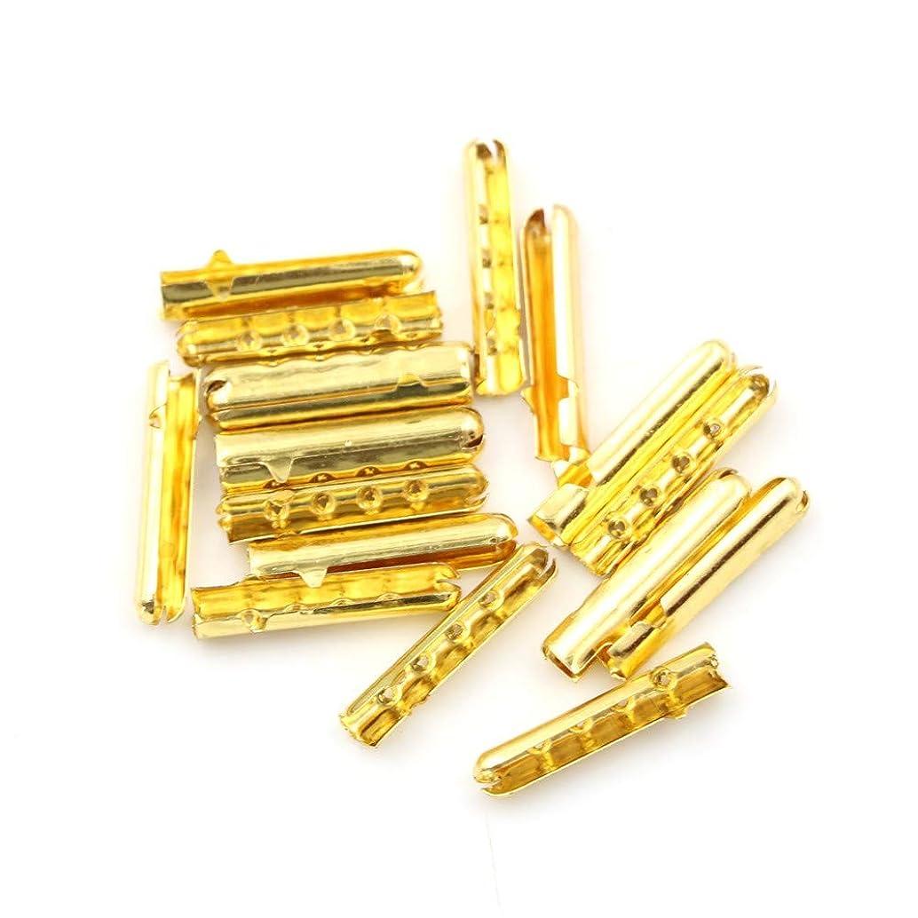 WellieSTR 500PCS (Gold Color) Shoe Lace Tips Replacement Head Shoelace Bullet Metal Ends Aglet Repair Shoe Lace Tips Replacement DIY