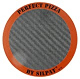 """Silpat AH305-01 Perfect Pizza Non-Stick Silicone Baking Mat, 12"""" Round"""