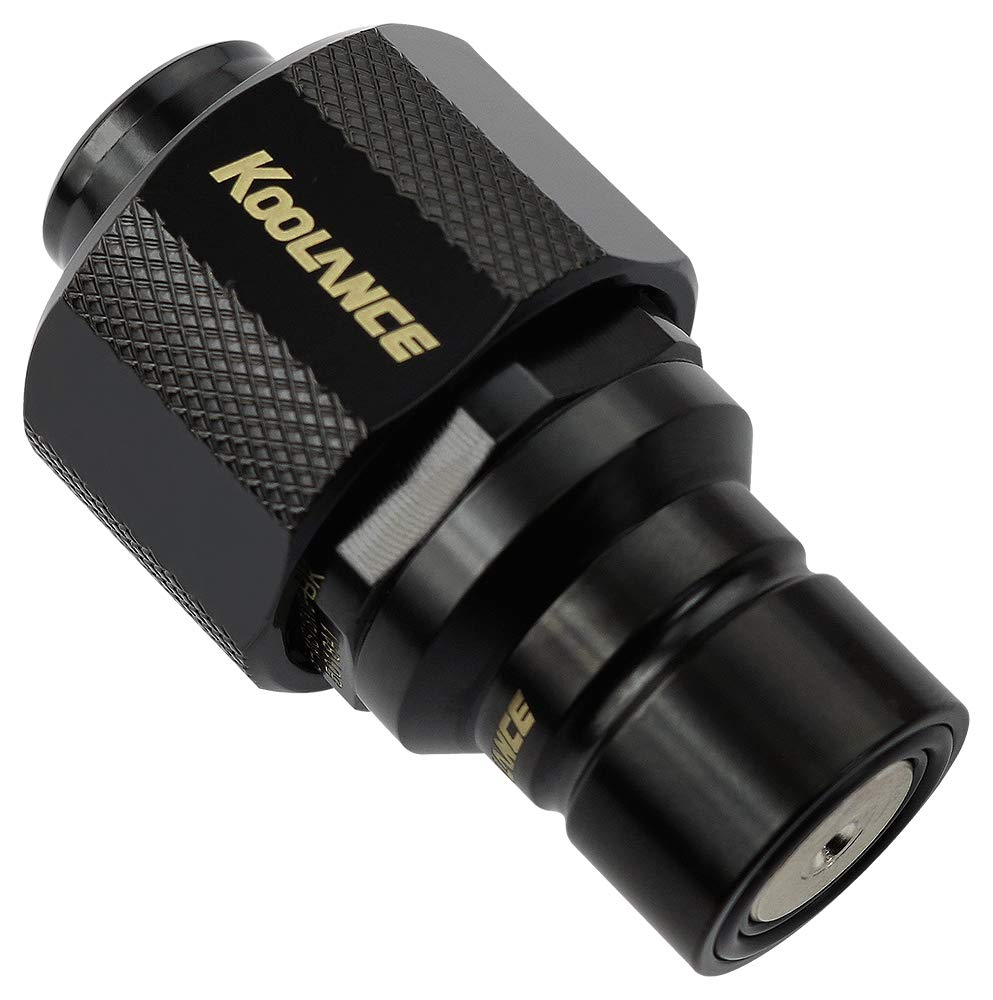 Koolance QD3-MS13X19-BK QD3 Male Disconnect Choice No-Spill NEW before selling Quick Coupl