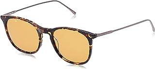 Lacoste Oval Paris Collection Tortoise Sunglasses For Men 52-20-145mm