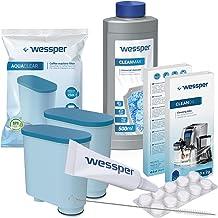 Wessper Onderhoudsset voor Philips / Saeco Espressomachines - 2 Aquaclear filters - Smeermiddel - Ontkalker 500 ml - 10 Ta...
