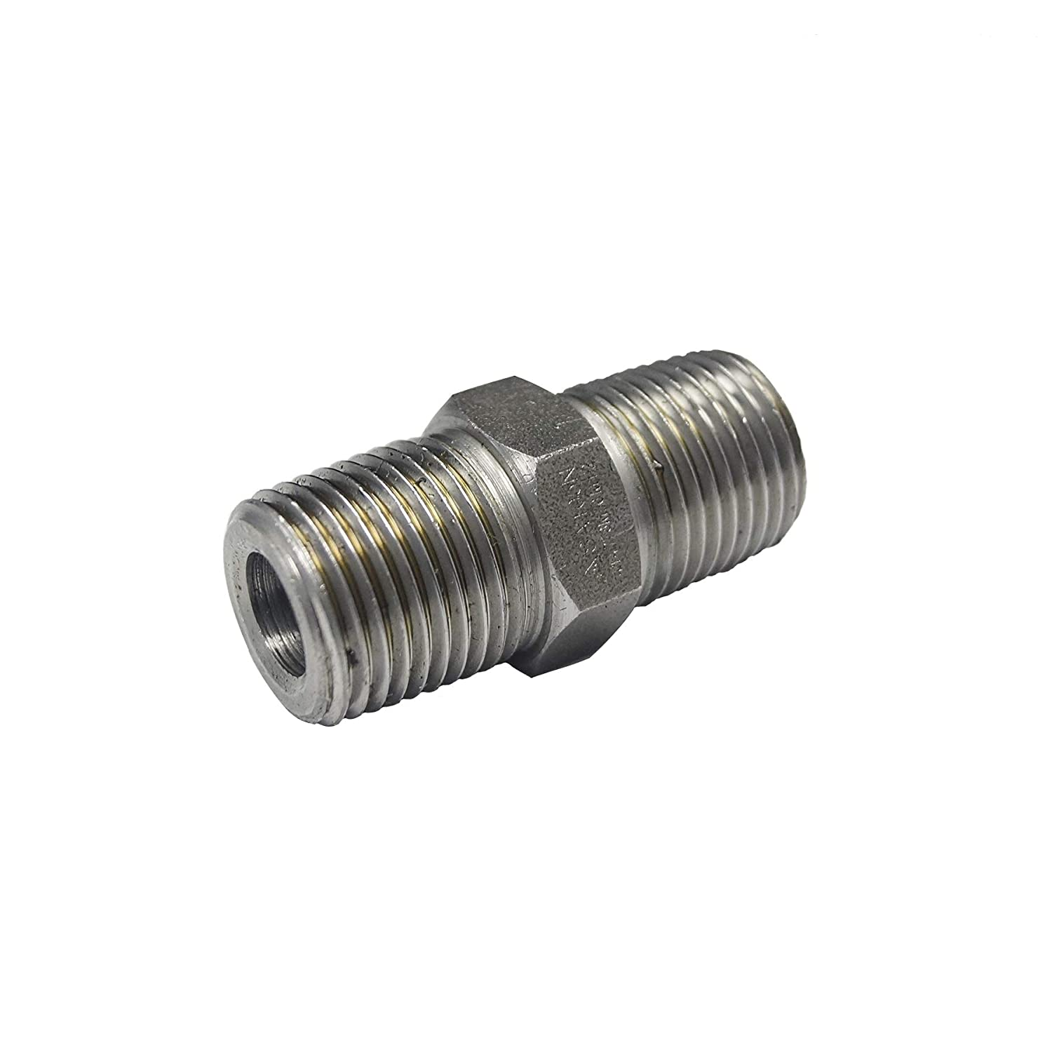 Carbon Steel Boston Year-end annual account Mall A105 Forged Pipe Fitting Male Nipple Hex 2