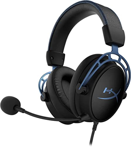 HyperX Cloud Alpha S - PC Gaming Headset, 7.1 Surround Sound, Adjustable Bass, Dual Chamber Drivers, Chat Mixer, Brea...