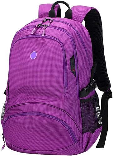 LTJLWB-sac à dos Sac à Dos en Plein Air Sac à Dos éTanche en Nylon Alpinisme Multifonctionnel Ultra LéGer Robuste Sac pour Ordinateur portable 15in