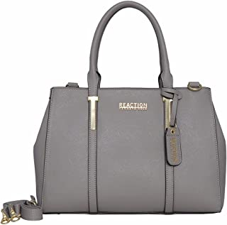 Kenneth Cole Reaction KN1860 Triple Entry Harriet Satchel Handbag
