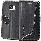 elephones® Handyhülle für Samsung Galaxy S7 Hülle - Kompatibel mit Galaxy S7 Handy Hüle Schutzhülle Handy-Tasche Flip Case Cover