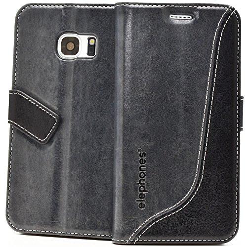 elephones® Handyhülle für Samsung Galaxy S7 Hülle - Kompatibel mit Galaxy S7 Handy Hüle Schutzhülle Handy-Tasche Flip Hülle Cover
