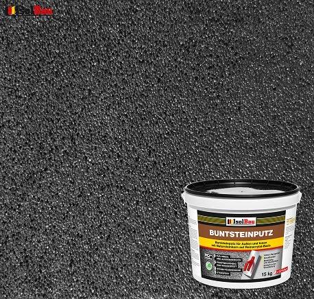 Buntsteinputz Mosaikputz BP100 (Anthrazit) 15kg Absolute ProfiQualität