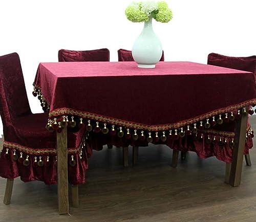 ASL Tischdecke Solide Farbe Europ che Stil Flanell Tischdecke Stoff Stoff Tischdecke Rectangle Tischdecke w en