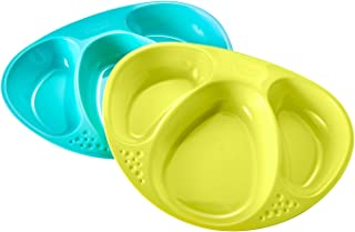 Tommee Tippee Section Plates 2 Pack,2 Count