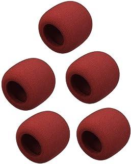 na 5 Unidades de Espuma Gruesa Tipo Bola de Espuma para micrófono de Mano, protección contra el Viento, protección contra ...