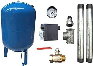 Raccord en laiton 4 voies DN25 1 DN13 1//4 pour R/éservoir /à vessie r/éservoirs sous pression