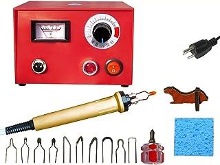 KKmoon Pluma de Pirograbado de Madera Kit de Máquina de Pluma Multifuncional 220V AC Kit de