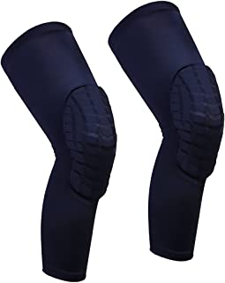 Cantop Knee Pads Long Compression Leg Sleeves Braces for Basketball Volleyball Football..