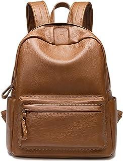 حقائب ظهر نسائية Tisdaini أنيقة جلدية مضادة للسرقة للسفر للمراهقين