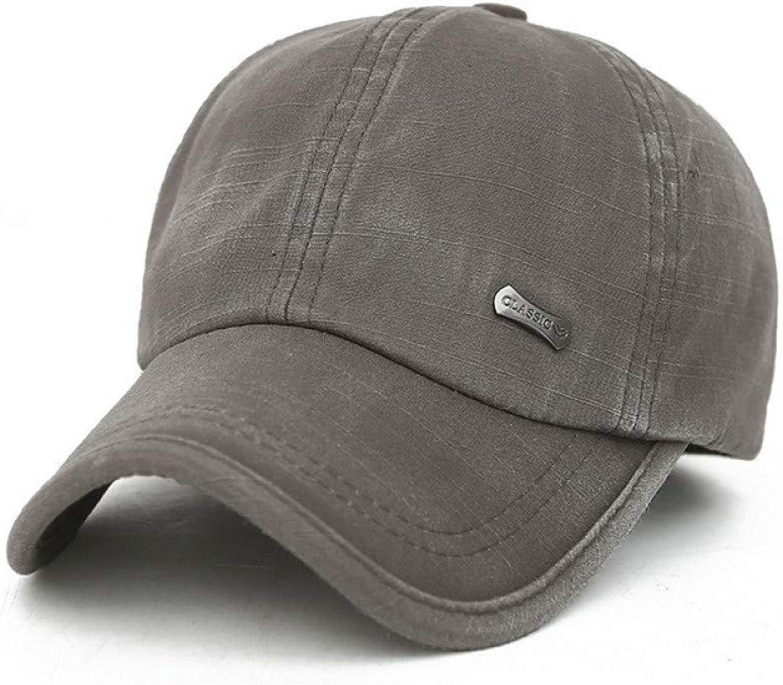 7b925d8bc JKYJYJ Brand Baseball Cap Solid Classic Washed Men's Women Snapback ...