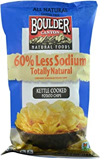 Boulder Canyon Natural Foods Kettle Cooked Potato Chips -- 6.5 oz