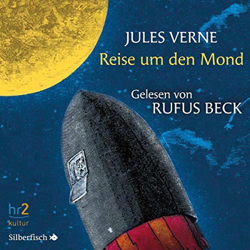 Reise um den Mond audiobook cover art