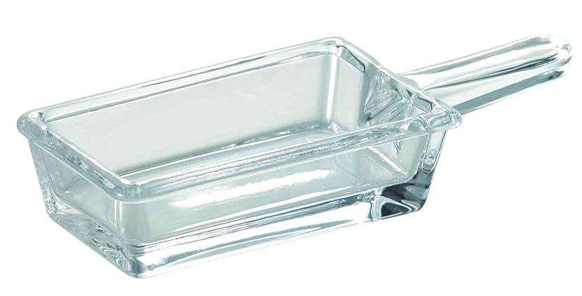 嫌悪適応する試してみる東洋佐々木ガラス 小皿 クリア 12.2×5×2.3cm 花かざり アイスバー角 TS44038