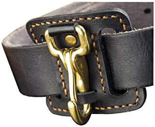 Belt Key Clip Holder Leather - Belt Loop Car Key Fob Chain Keeper Organizer