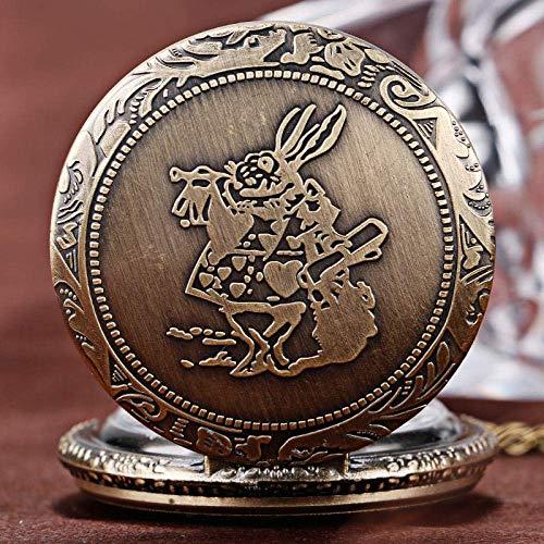 SHKUU Reloj Bolsillo clásico Regalo Reloj Bolsillo Reloj Enfermera para Hijo Niños Cumpleaños Regalo año Nuevo