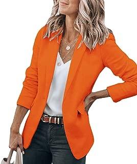 Best women orange blazer Reviews