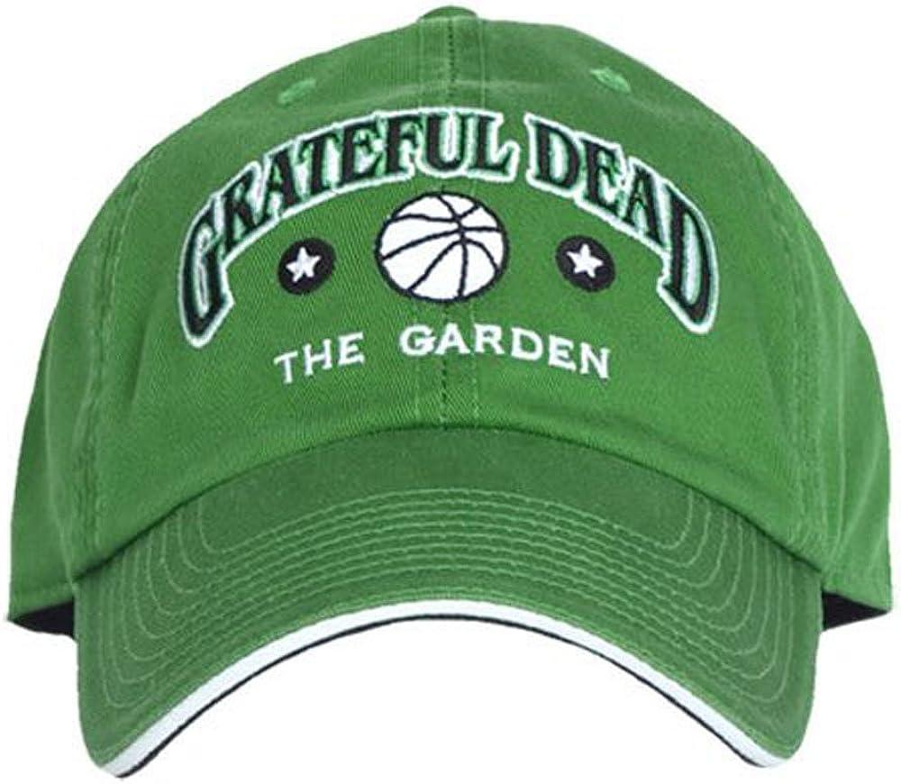 Liquid Blue Adult Grateful Dead The Boston Garden Embroidered Baseball Hat Green