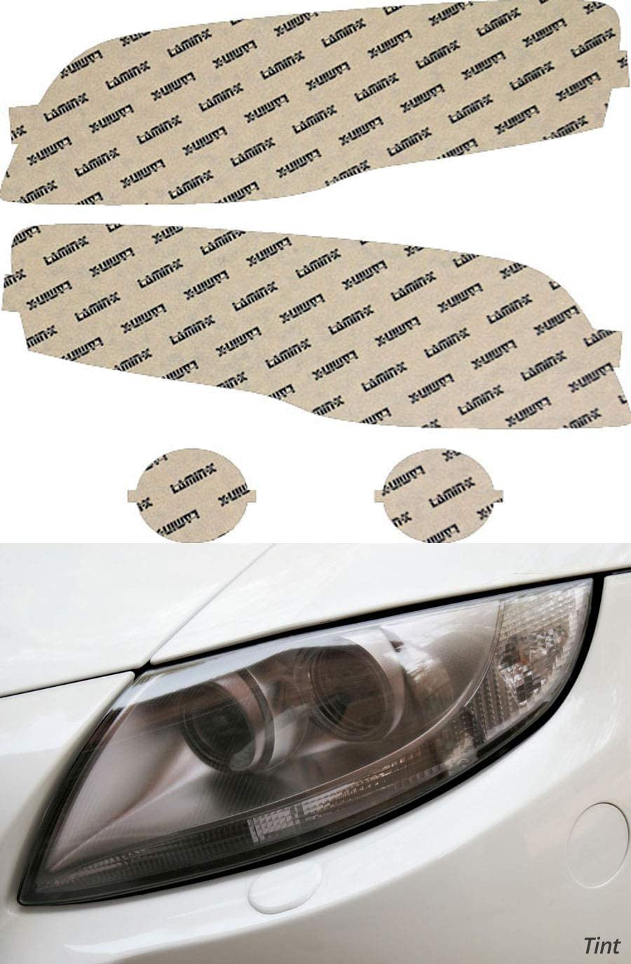 Lamin-x Custom Fit Tint Headlight Covers A4 06-08 for Audi Houston Mall S4 All items free shipping