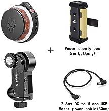Tilta Nucleus-Nano - Sistema de Control de Lente para Mando de Rueda de Mano inalámbrico para cámara réflex Digital Ronin s Crane 2 Gimbal con Caja de alimentación y Cable