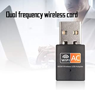 AgoHike Ac600M Tarjeta de Red inalámbrica de Doble Banda 5G Mini USB Computadora WiFi Transmisor de recepción de señal Rtl...