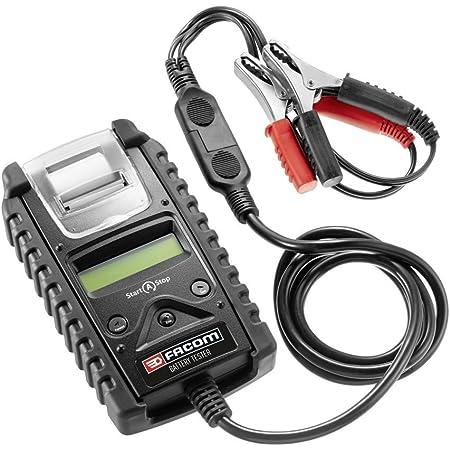 Rouge//Gris KS TOOLS 550.1646 Testeur Digital 12v de Batterie et Circuit de Charge avec imprimante int/égr/ée