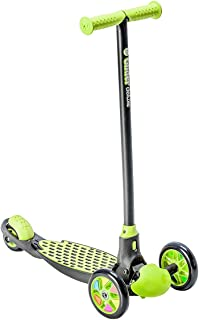 Yvolution Y Glider Deluxe | Three Wheel Kick Scooter for Kids with Safety Brake for Children Ages 3+ Years