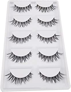 Hot Sale!5 Pair/Lot Crisscross False Eyelashes,Canserin Voluminous HOT Lashes