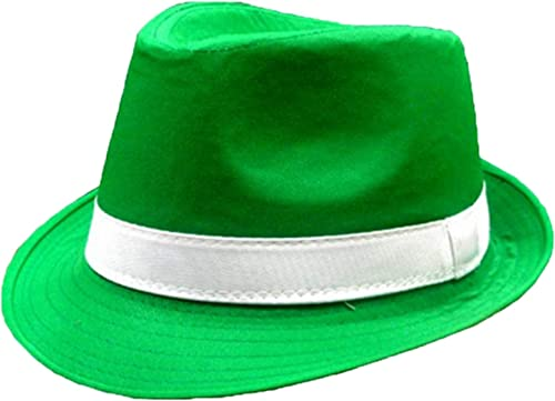 discount OPTIMISTIC Green Derby Hat for online St Patricks popular Day Irish Green Bowler Hat for Men Women Fedora Hat Party Accessory outlet online sale