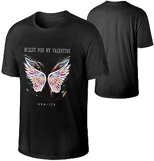 Mans Bullet for My Valentine Gravity Cool T Shirt Black