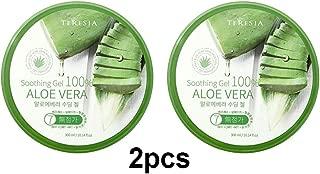 Aloe Vera Soothing Gel, Keeping Skin Smooth and Soft, 300ml(10.1oz) x 2Pcs