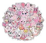 JINER Pink Elf Bao Can Dream Fat Ding Pet Elf Pegatina de Di