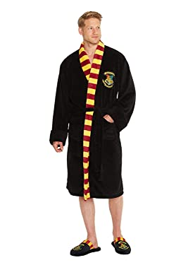 Mens Or Womens Official Harry Potter Hogwarts Bathrobe