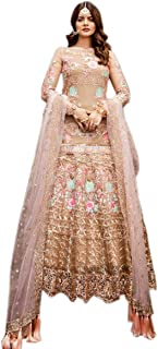 Indian Pakistani Salwar Suit wear Anarkali Salwar Kameez Net Anarkali Salwar Kameez Ready to wear