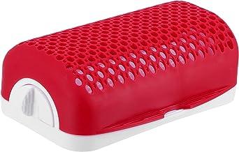 Outil de fabrication de hot-dogs, fabricant de hot-dogs rouge et blanc pour micro-ondes