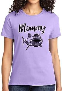 Mommy Shark Womens T Shirt